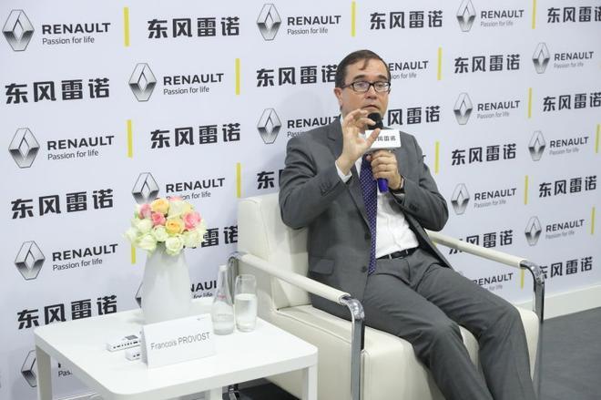 雷诺亚太区主席、雷诺高级副总裁兼东风雷诺总裁 福兰