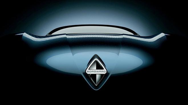 宝沃Isabella车型预告图曝光 将于9月亮相