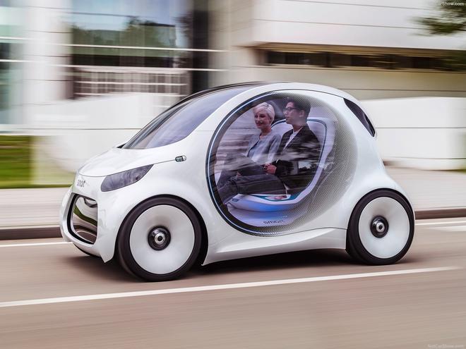 2017法兰克福车展 Smart Vision EQ fortwo
