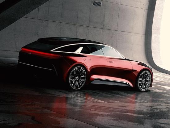 起亚全新概念车发布预告图 9月车展发布