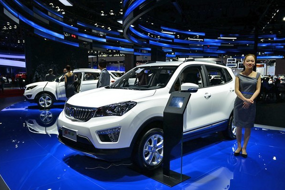 长安CS15 EV或于11月广州车展正式上市