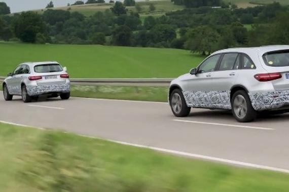 视频:奔驰氢燃料电池概念车GLC F-CELL路试