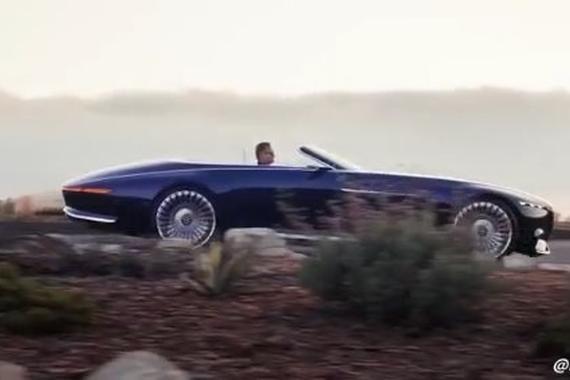 奔驰最新概念车敞篷