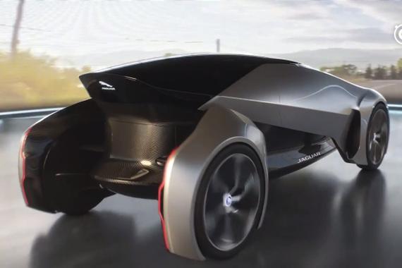 视频:捷豹全新概念车 Future-Type