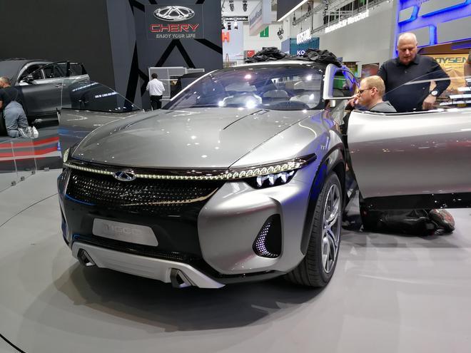 法兰克福车展探馆 奇瑞SUV概念车将亮相