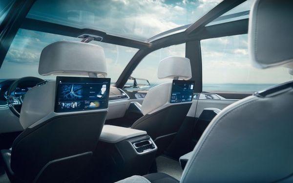 科幻座驾 宝马X7将亮相2017法兰克福车展