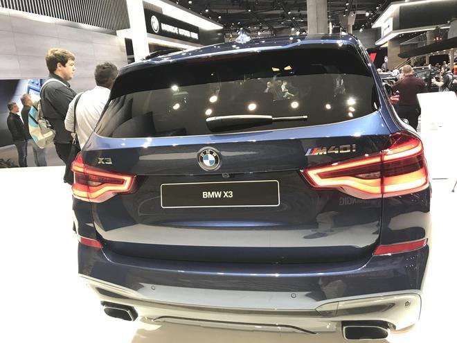 2017法兰克福车展 全新一代宝马X3亮相
