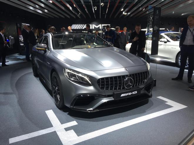 2017法兰克福车展 新款奔驰S Coupe系列