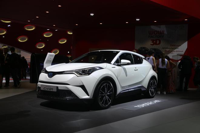 2017法兰克福车展 丰田C-HR混动版亮相