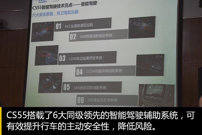 目标:更安全、更智能 长安CS55技术探秘