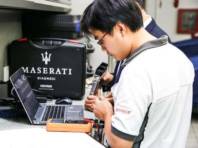 玛莎拉蒂技师大赛机修及喷漆组冠军访谈
