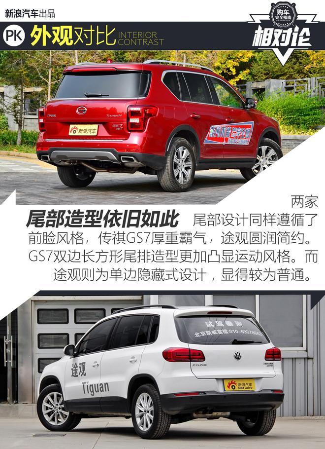 相对论.广汽传祺GS7 VS 上汽大众途观