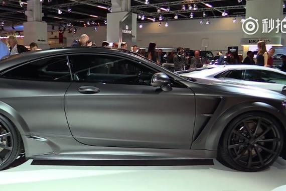 千匹猛兽奔驰S63 AMG Coupe