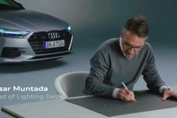 视频:奥迪汽车设计师讲述新款2017A7设计理念