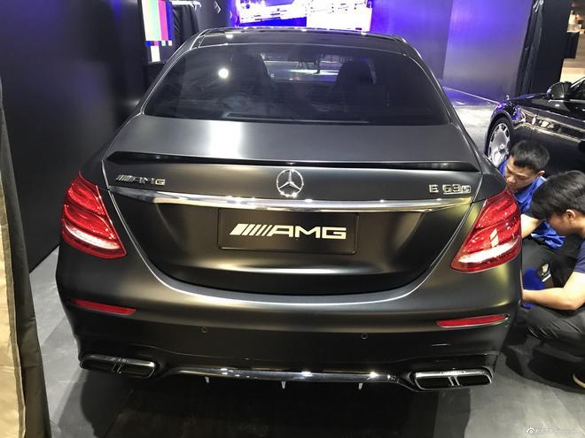 2017广州车展探馆:AMG E63S实车曝光