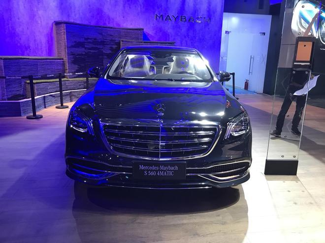 2017广州车展探馆 迈巴赫S560实车曝光