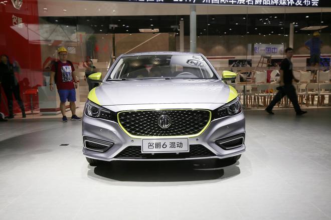 2017广州车展探馆:上汽名爵6插电混动版