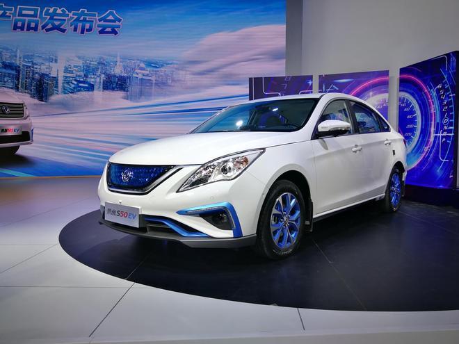 2017广州车展:东风风行两款纯电动车型上市