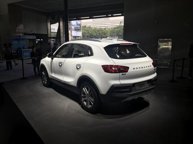 2018款宝沃BX5上市 售15.98-21.98万元