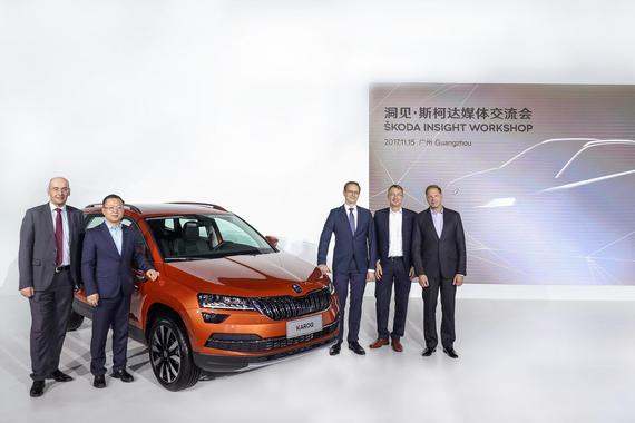 斯柯达KAROQ车展首发 明年再推三款SUV
