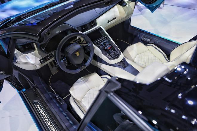 兰博基尼Aventador S敞篷上市 售748万元