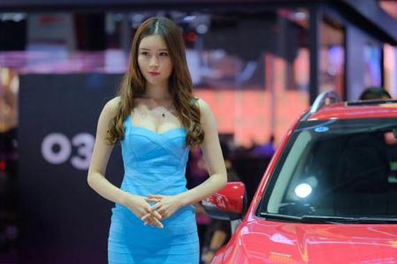 2017广州车展 | 你想看的车模都在这里