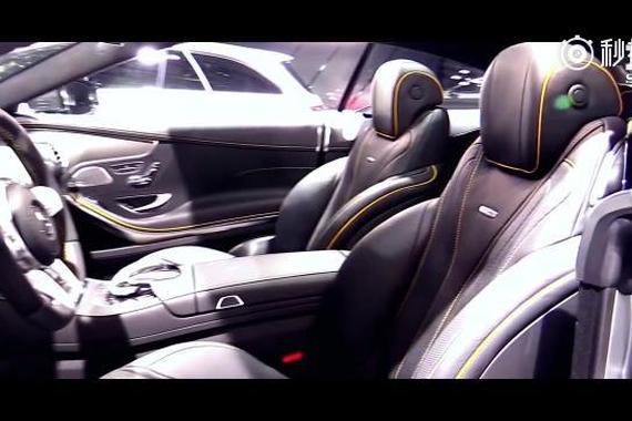 AMG S63 4Matic V8增压引擎