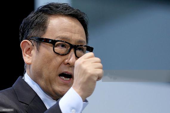 """丰田章男对高层大重组 高呼""""不是输赢,而是生死攸关"""""""