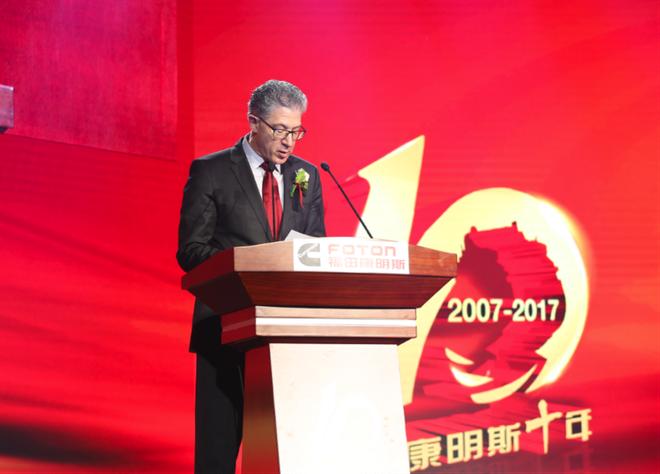 康明斯集团副总裁 曹思德