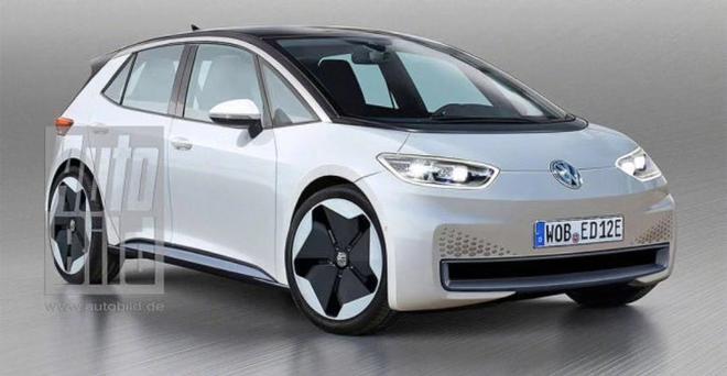 来自MEB平台 大众2019年将发布一款电动车