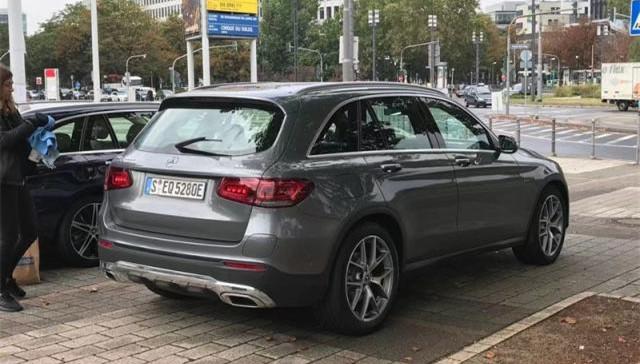 2019法兰克福车展 新款GLC PHEV实车亮相