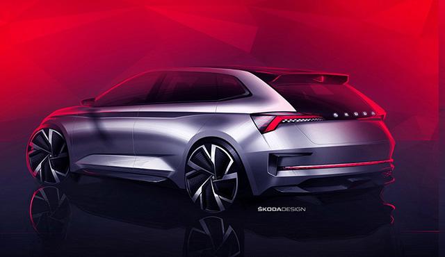 斯柯达Vision RS概念车假想图(图片来源网络)