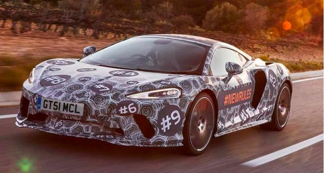 迈凯伦全新GT跑车预告图曝光 5月15日发布