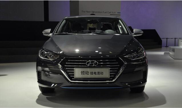 高颜值混动家轿 北京现代领动PHEV有望本月上市