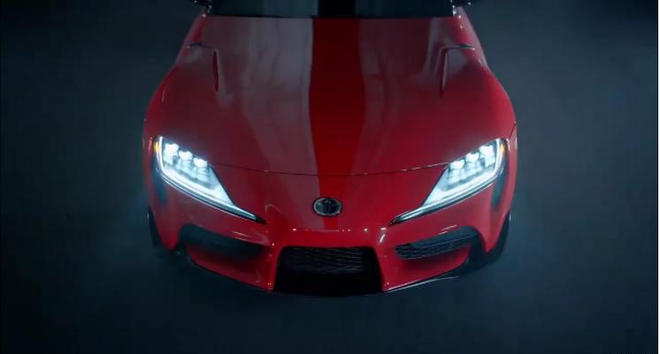 全新丰田Supra预告视频曝光 将于北美车展首发
