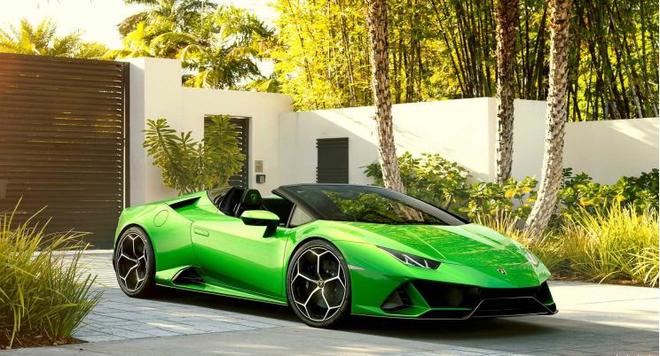 兰博基尼Huracán EVO Spyder售价公布 售价为365.00万元