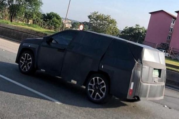 Jeep新款指南者路试谍照曝光 7座车/插混