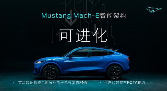 """""""电动野马""""Mustang Mach-E与福特的科技树"""