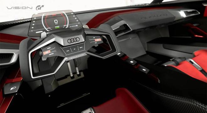 奥迪e-tron Vision GT概念车首次亮相