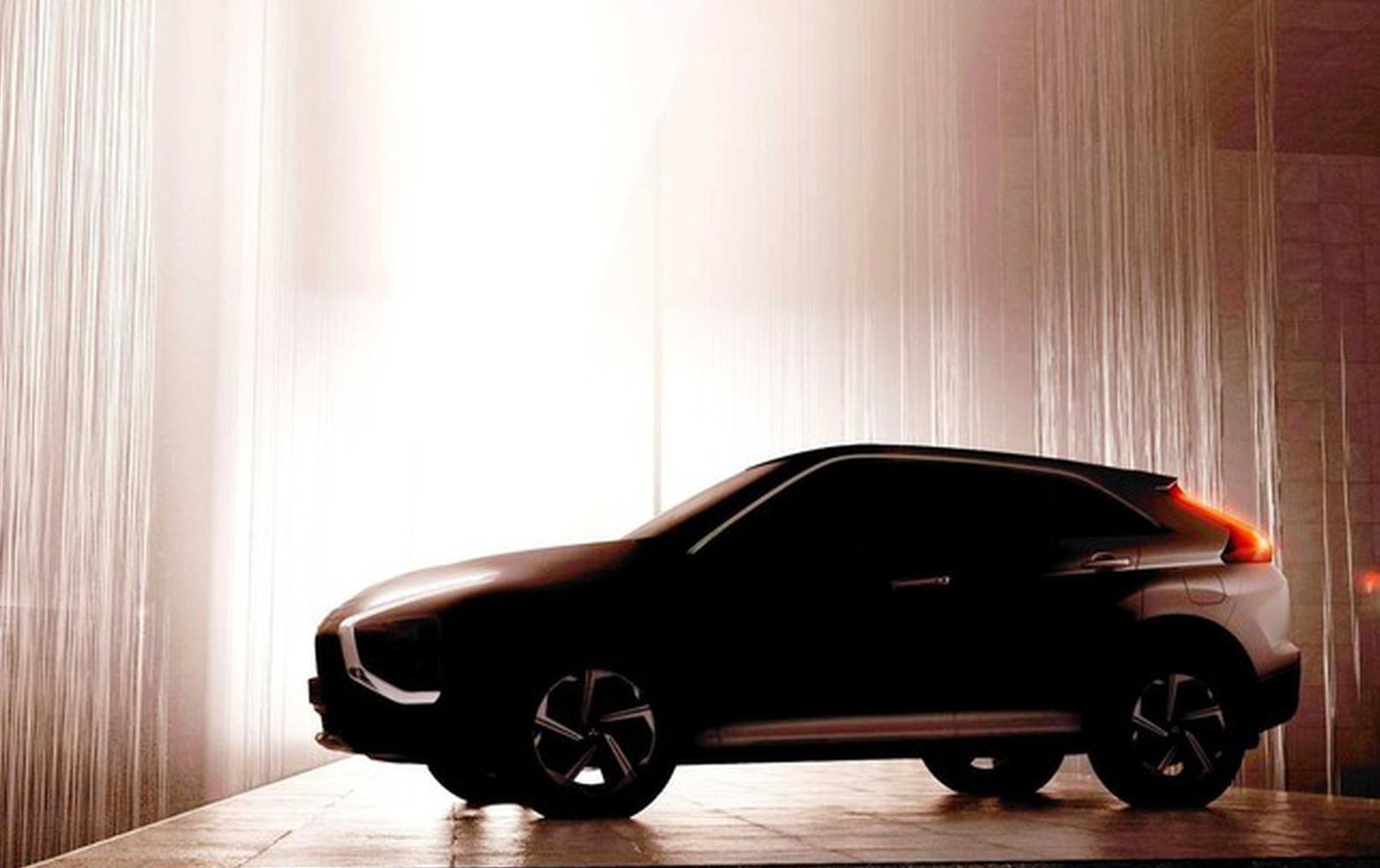 或沿用概念车设计 三菱公布中期改款奕歌预告图