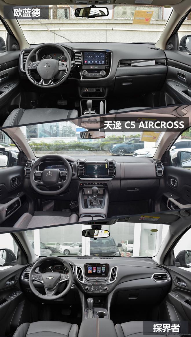 风格各不同 看热门潮流紧凑级SUV对比
