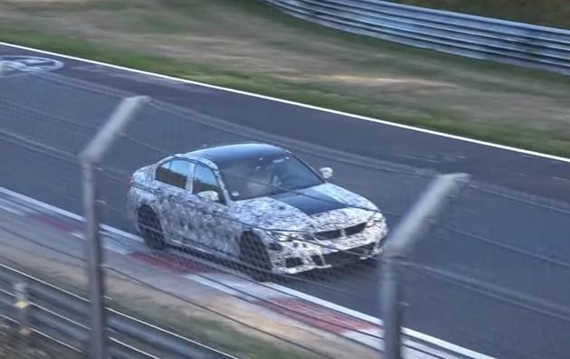 宝马全新M3车型最新谍照 双涡轮增压六缸发动机