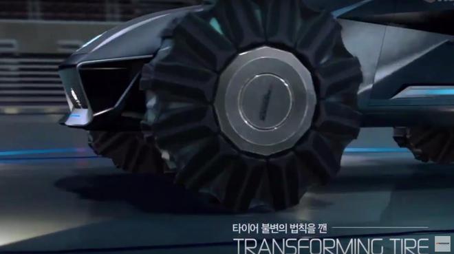 韩泰变形轮胎 越野/操控可兼得?