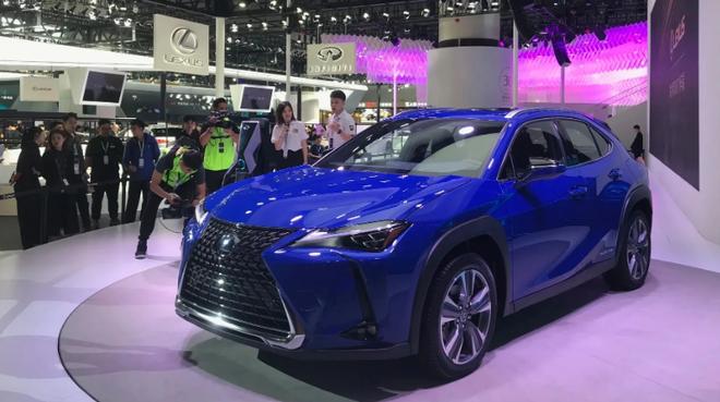 雷克萨斯首款纯电动SUV UX300e明年春在中国上市