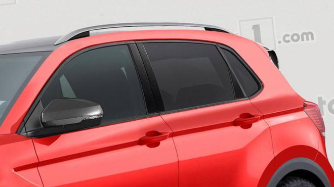 大众T-Cross量产版假想图曝光 将于巴黎车展首发