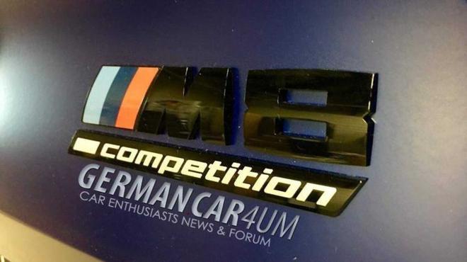 全新宝马M8 Competition谍照 或搭载V8发动机