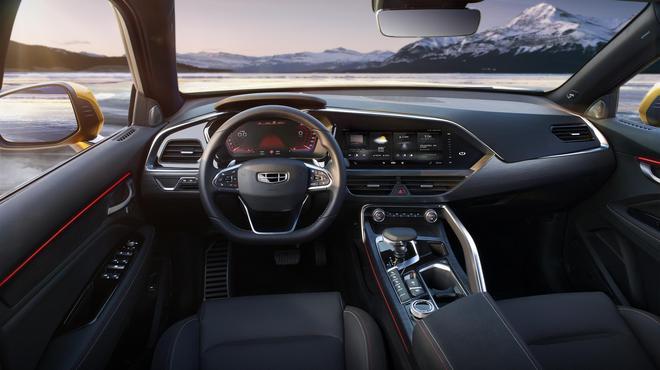 全新紧凑型轿跑SUV 吉利星越正式发布 汽车殿堂
