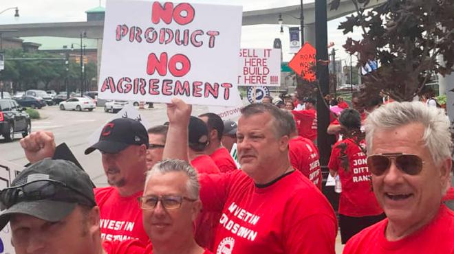 48000名工会成员罢工 通用将遭数十亿美元损失
