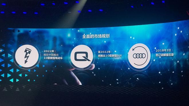 奥迪公布产品计划 5年后国产车型将翻倍