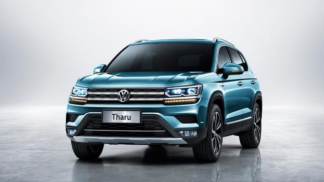 """上汽大众发布全新SUV""""Tharu"""" 将于年内上市"""